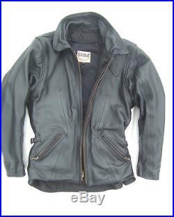 Veste blouson cuir moto femme SOUBIRAC NORA Noir taille S 36-38 Excellent état