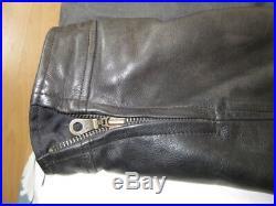 Veste blouson cuir noir XXL SOUBIRAC comme neuve