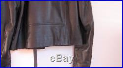 Veste blouson cuir perfecto CAROLL taille 36 NEUF