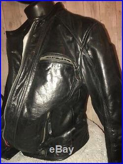 Veste blouson de cuir