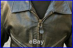 Veste blouson en cuir SCHOTT 637 original aviateur made U. S. A taille 42 (L)