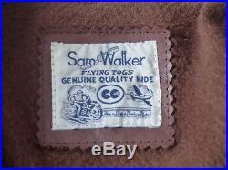 Veste blouson en cuir Sam Walker / Aero Horsehide Leather Jacket