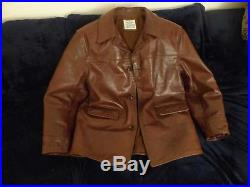 Cuir Horsehide Blouson Jacket Leather Sam En Aero Walker Veste gfBpnn