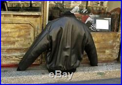 Veste blouson en cuir aviateur originale CHEVIGNON made in france L