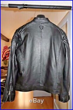 Veste/blouson en cuir homme Redskins Deep Sport noire taille S NEUVE
