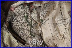Veste blouson en cuir marron Avirex G1 Top Gun original vintage taille XL