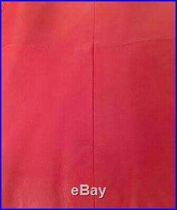 Veste blouson rouge PABLO GÉRARD DAREL T40 Très beau Cuir souple