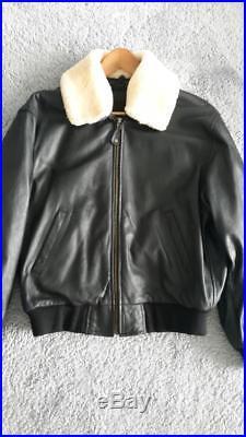 Veste blouson vintage Redskins size L cuir gras