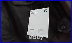 Veste cuir BMW Z1 1989 blouson aviateur manteau (no z3 z3m z4 z4m z8 m style)