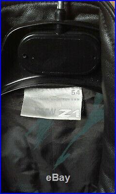 Veste cuir BMW Z1 XL 1989 Aviateur M Style blouson manteau parka (no z3 z4 z8)