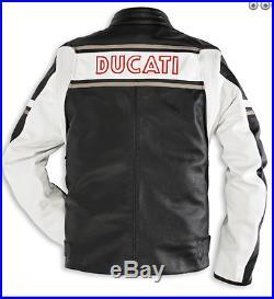 Veste en Cuir Ducati Eagle By Dainese Taille 56 981015556 Blouson Cuir