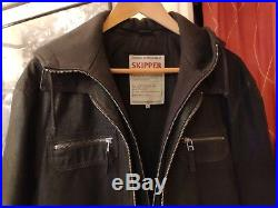 Veste en Cuir Homme Skipper by Oakwood 400 Blouson Jacket Taille XL (EU 52/54)