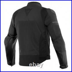 Veste en Cuir Moto Dainese Agile Noir Taille 52 Blouson Cuir Sport Racing Naked