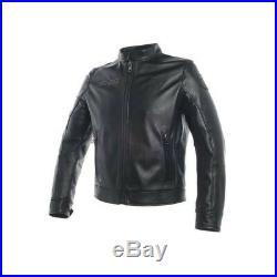 Veste en cuir Dainese Legacy noir Motorrad blouson cuir