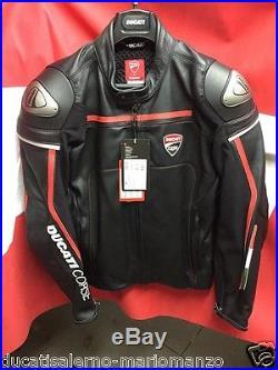 Veste en cuir Ducati Courses 15 Dainese Blouson Cuir Ducati Courses 9810215