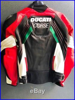Veste en cuir Ducati Courses 18 C3 Blouson Cuir Ducati Courses 9810373