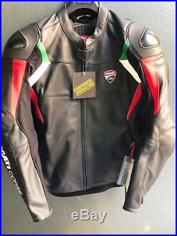 Veste en cuir Ducati Courses 18 C3 NOIR Blouson Cuir Ducati Courses 98104075