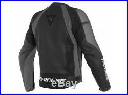 Veste en cuir Perforée Dainese Nexus Noir Noir Ebony