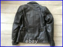 Veste en cuir de moto femme Redskins