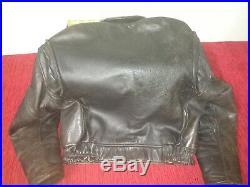 Veste motard vintage 80 Lee Trevor blouson cuir
