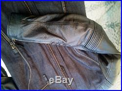 Veste moto ALPINESTARS pour Femme Renee Jacket D30 Cuir Denim Leather