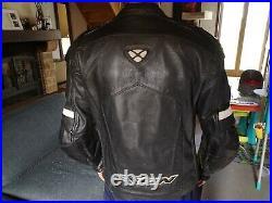 Veste moto cuir homme + doublure hiver Ixon taille M