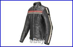Veste pour Femmes Original TRIUMPH Raven Jacket MLLS17309 Avec Gardes Taille M