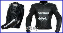 Vêtement En Cuir Motorbike Biker Cuir Veste Moto Cuir Veste Eu-48,52,58,60