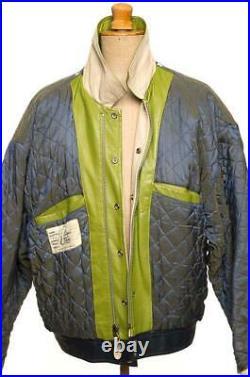 Vintage Avirex Soleil Bol Blouson Veste Cuir XL Exlarge Excellent Premier Classe