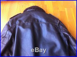 Vintage Schott Veste is 674 ms USA Blouson cuir Flight Jacket A2 (T. 42)