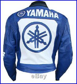 YAMAHA Veste en Cuir de Moto Vestes de Motard en Cuir Veste en Cuir de Motard 50